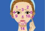 Vị trí mụn trên gương mặt báo hiệu điều gì ?